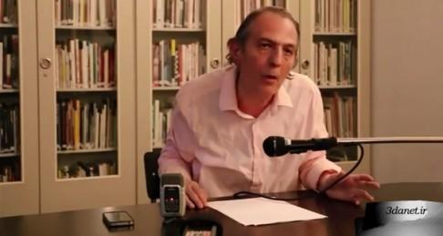 """""""جهان پس از سیاست """" عنوان سخنرانی مراد فرهادپور در برلین است که در مرداد ۱۳۹۳ انجام گرفت."""