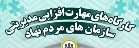 کارگاه های مهارت افزایی مدیریتی سازمان های مردم نهاد