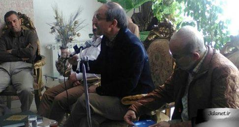 سخنرانی ناصر مهدوی در جمعیت خیریهی غدیر با عنوان فرزانگی، حسین، زندگی