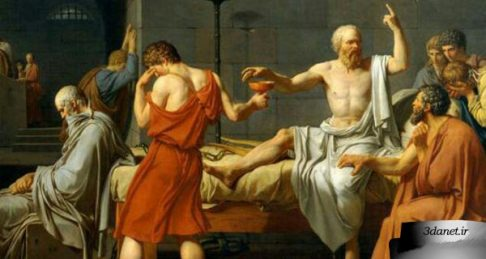 مرگِ سقراط ؛ روايتِ افلاطونی و تفسيرِ نيچه ای