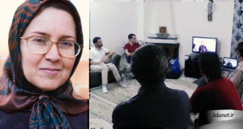 گفتگوی حلقه مطالعاتی جمعیت خیریه غدیر با صدیقه وسمقی پیرامون فمنیسم و اسلام