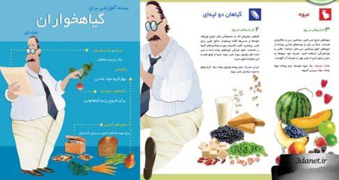 کتابچه آموزشی برای گیاهخواران مبتدی