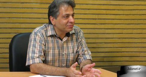 مصاحبه محمد خرسندی با محمدرضا سرگلزایی با عنوان «در درون کعبه رسم قبله نیست»