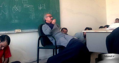ماجرای دفاع محمدرضا شفیعی کدکنی از زبان فارسی در کلاس درس